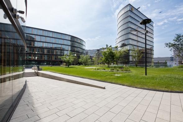 Gartendeck am Erste Campus
