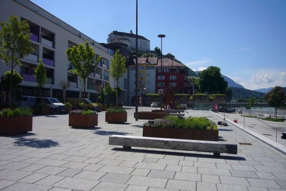 Kufsteins neuer Platz