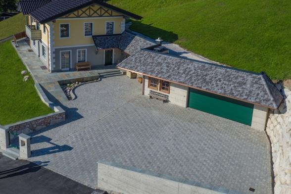 Freiraumgestaltung  - Einfamilienhaus im Pinzgau