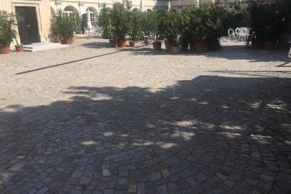 Platzgestaltung Schloss Katzelsdorf